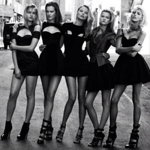 The Mod Squad #supermodels #photography