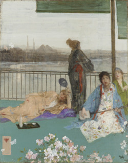oncealoyallover:  By James McNeill Whistler