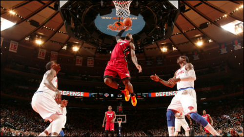 LeBron James, Miami Heat (March 3, 2013) [Image Source: Fans.Heat.NBA.com; Photographer: Nathaniel Butler]