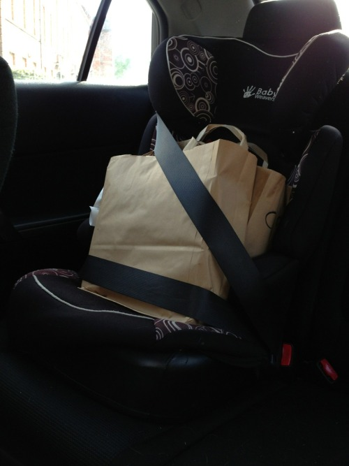 1dolsandanchors:  £40 worth of Wok&Go all strapped in awhhhh cute