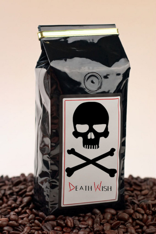 laughingsquid:  Death Wish Coffee, An 'Extreme' Coffee With 200% More Caffeine  Buy this Aida and tell me how it tastes.