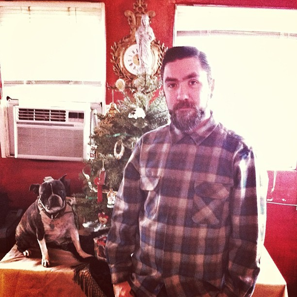 Merry Christmas from me and pup! 🎅🎄👍 (at Treeskull)
