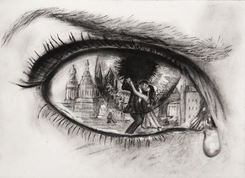 biohazerd:  qtp89:  uniquenicci:  Wooooow  That's so deep who ever drew this felt true pain  That about sums it up  LOOK AT AND THINK ABOUT SOMETHING ELSE INSTEAD OF WALLOWING IN SHITTY FEELINGS WHILE LURKING AND CRYING AND FURROWING YOUR BROW AT THE SAME TIME. But yeah I understand that this is conceptual and that feeling being expressed can be felt deeply. We can all overcome whatever the fuck though, srsly