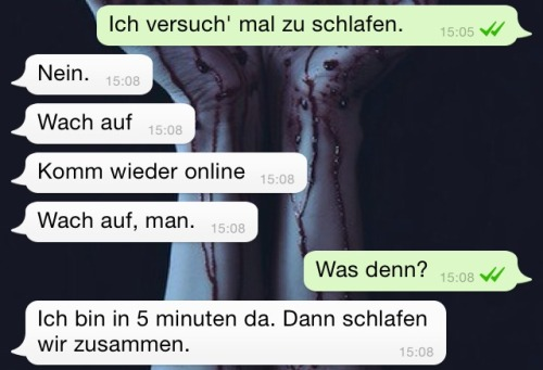 süße whatsapp chats