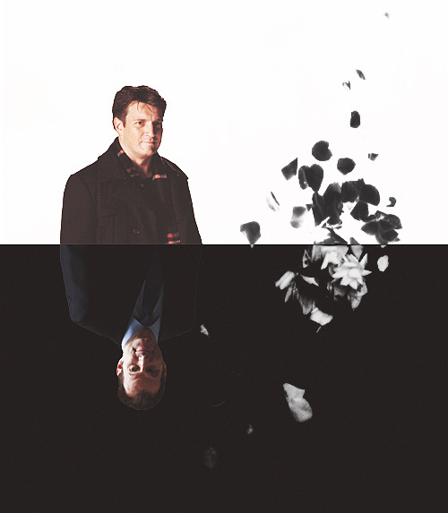"""I would say that Castle represents light and love and this guy represents the dark and death and they both have a hold on Kate Beckett. I think it's really great for her character to have that yin and yang. To have the darkness and the light really both pulling on her.""  — Jack Coleman on Recoil"