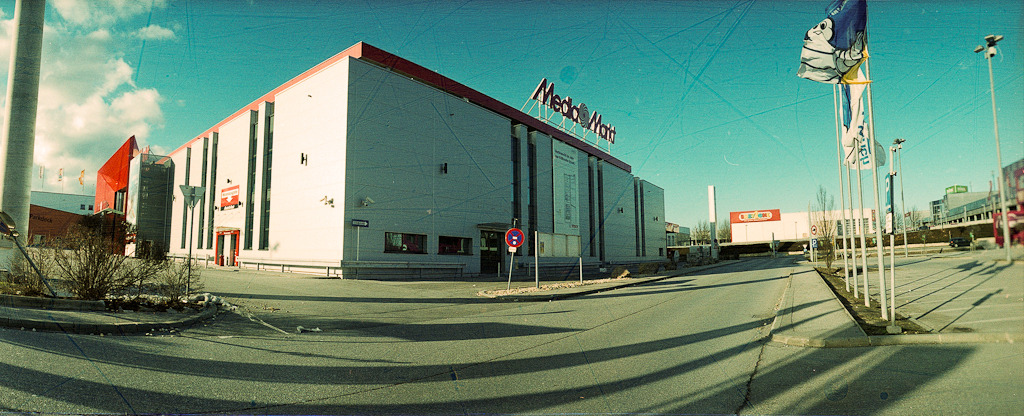 Media Markt, Vösendorf, February 3rd 2013 - Streak film in Horizon perfekt