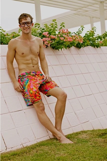 Ben Waddell enjoying the California rays in Mr Turk Follow Mr Turk on Facebook, Pinterest, Twitter, Instagram, and Trendabl