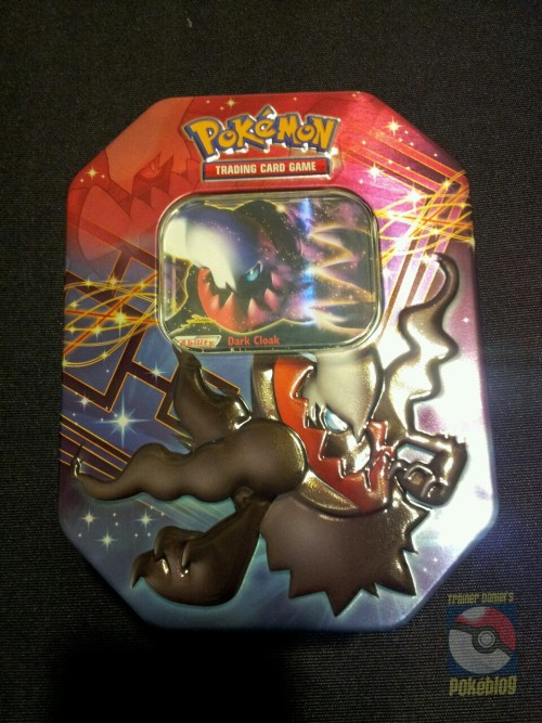 Got myself a Darkrai EX Tin