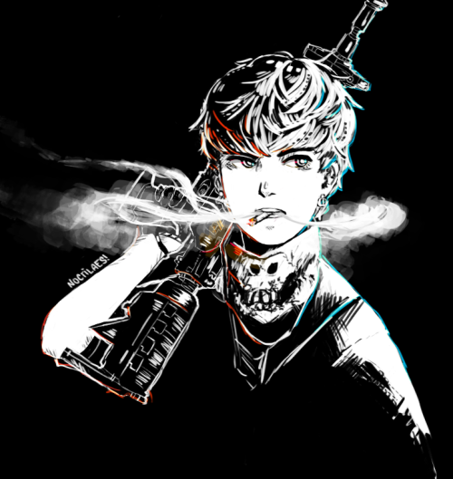noctilaes:  zelo smoking because why the fuck not