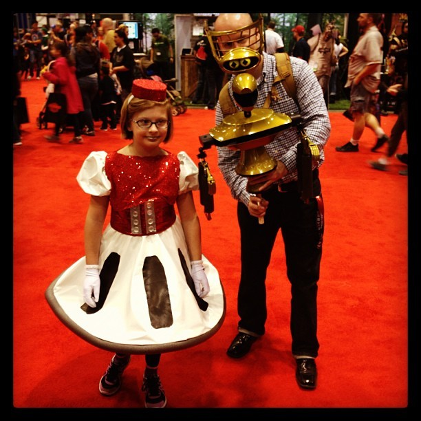 Dads can be great. #c2e2 #mst3k