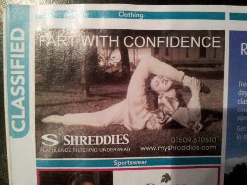 Fart With Confidence Not. A. Problem.