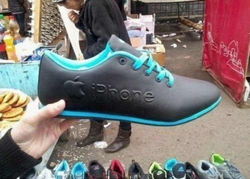 iPhone Sneakers, Really ?