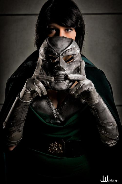 comicbookcosplay:  Constantine in Tokyo as Lady Dr. Doom — facebook.com/ConstantineInTokyo Photography by JWaiDesign Photography Submitted by Constantine