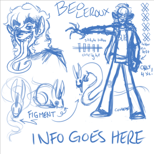 full sample sketch of Beo's new ref… though I dunno I feel like it looks dumb