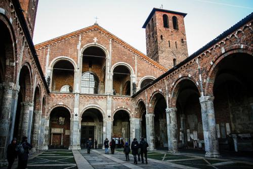 | ♕ | Basillica di Sant'Ambrogio - Milan | by © Jesús P. Ponce