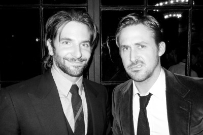 terrysdiary:  Bradley Cooper and Ryan Gosling after the screening of their awesome new film… The Place Beyond The Pines.