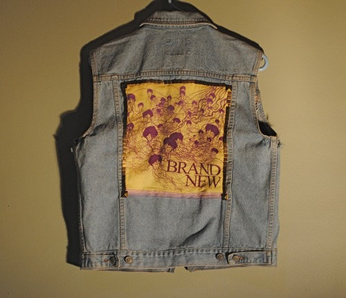 Just listed! https://www.etsy.com/listing/121930945/vintage-denim-vest-medium-brand-new