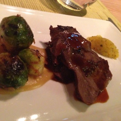 melt in mouth veal with pineapple relish | #tapantry  #privatedining