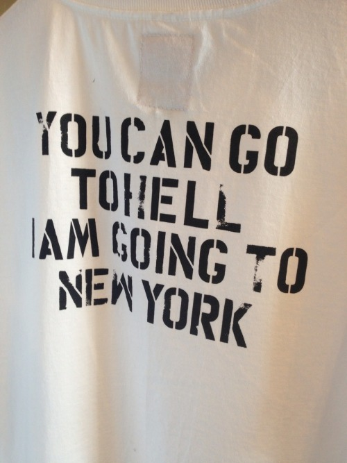Arriving to NYC in the next few hours probably Hitting up the flat in Bk tonight with ninjasonik. I'm here til Memorial Day hit me up!