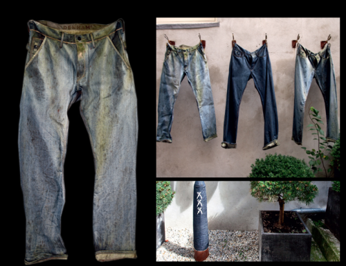 sprhumans:  Denham The Jeanmaker - 5 Years Jeans In The Garden