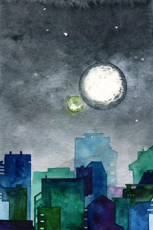 murakamistuff:Two Moons, 1Q84