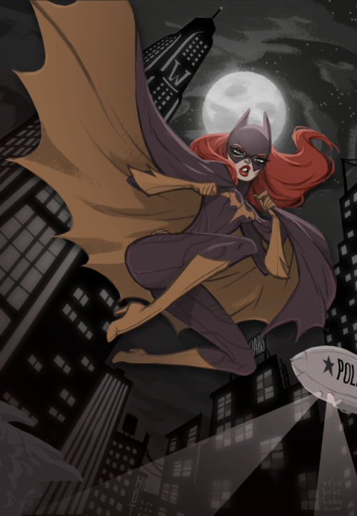 babstarr:   babsbabsbabs:    Batgirl    For a friend and super talented artist Rico Renzi in exchange for a Gorillaz Plastic Beach t-shirt! This was pretty fun to do! Them Gotham Girls are super fun to draw~!