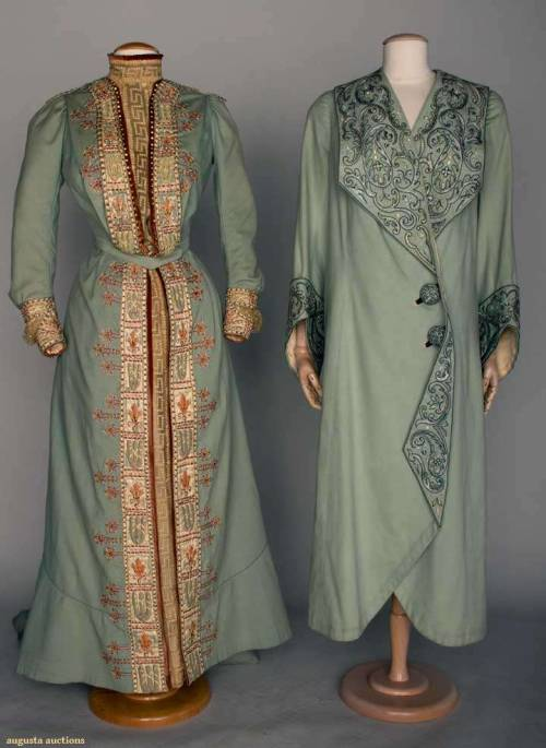 omgthatdress:  Coat and Dress 1900-1905 Augusta Auctions