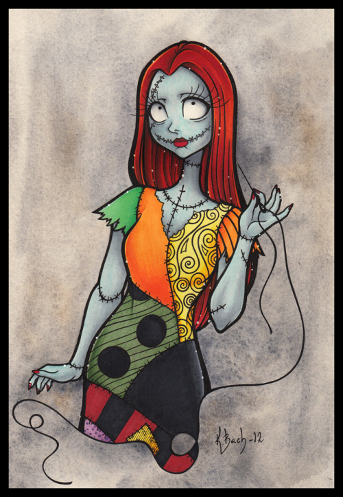 exaggeratedspecificity:  Sally by *BlueUndine