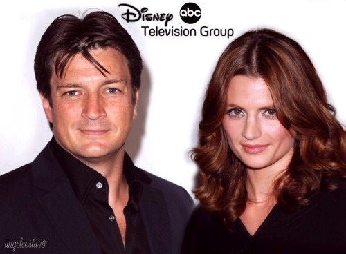 Stana & Nathan - Disney ABC Television Summer Press Tour 2010