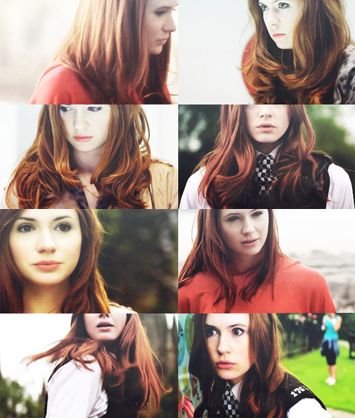 Amy Pond hair appreciation post.