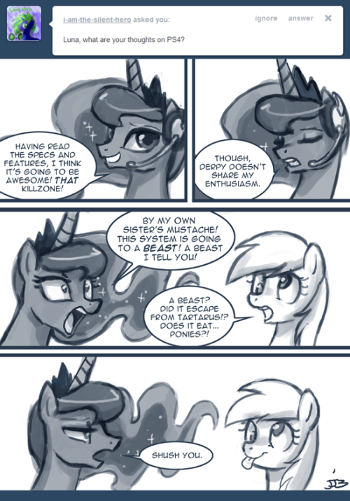 Ask Princess Molestia #289