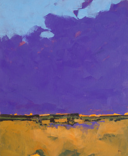 Purple sky18 x 22 inches2013