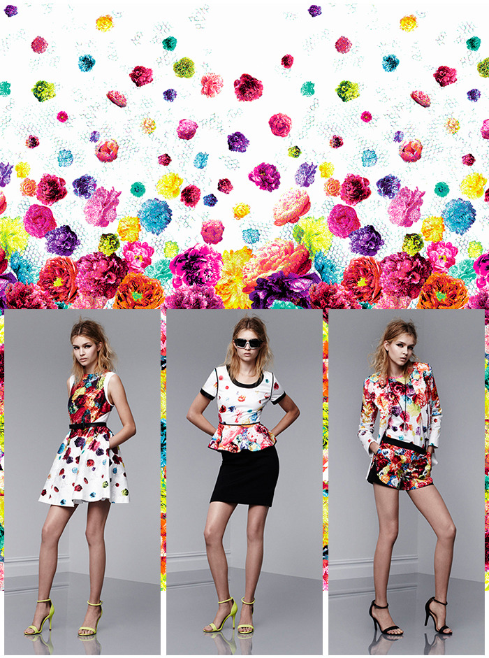 Prabal Gurung's Floral Crush Print Inspired by the blossomings of new love.