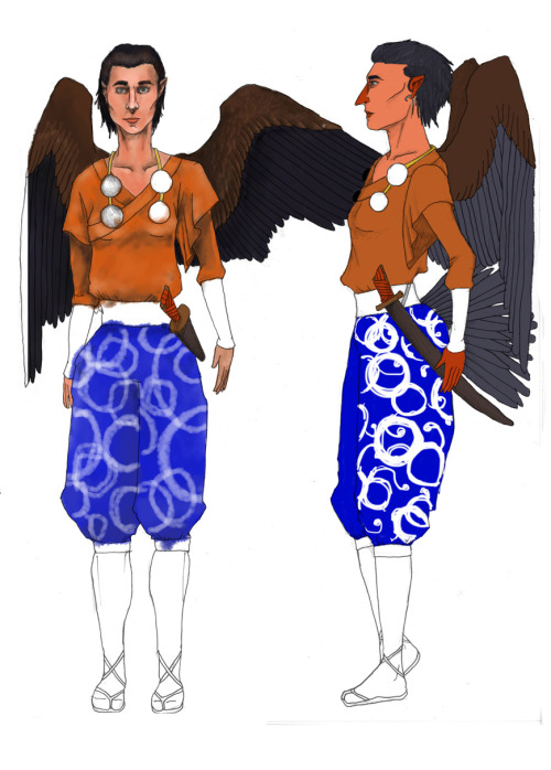 My character sheet for a tengu named Aka