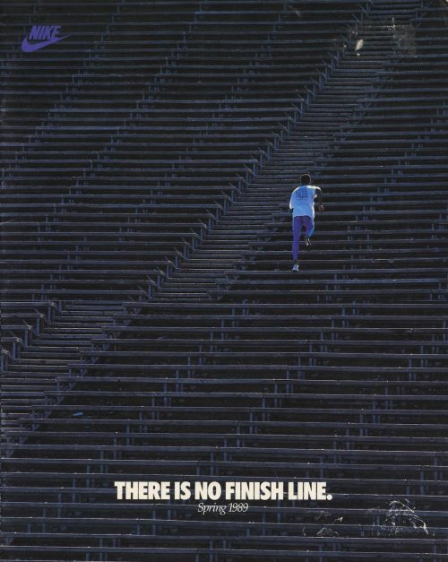 pizzzatime:  upnorthtrips: THERE IS NO FINISH LINE.