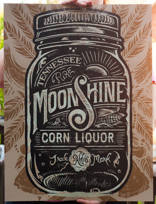 typeverything:  Typeverything.com - Moonshine Corn Liquor by Derrick Castle