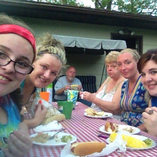 First summer cookout:)