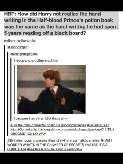 maybe-a-muggle:  Thought this was pretty funny…I never realized this. fantastic harry potter