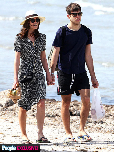 Keira and James on their Honeymoon in Corsica