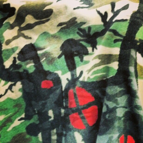 Abstract #camo tee #atc #lawrence
