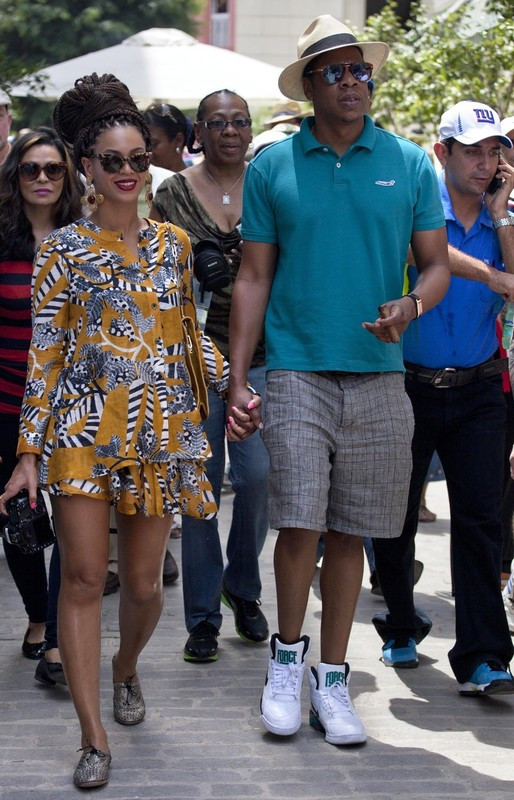 Beyoncé and Jay-Z in Havana, Cuba   So stinking cute