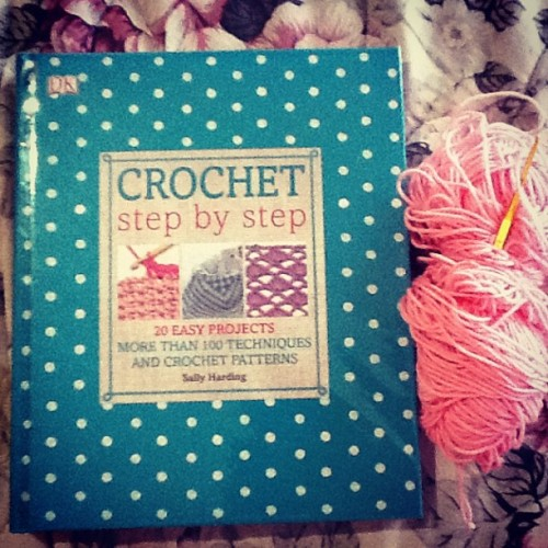 It's exciting,addicying yet very difficult #crochet #book #yarn #hobby