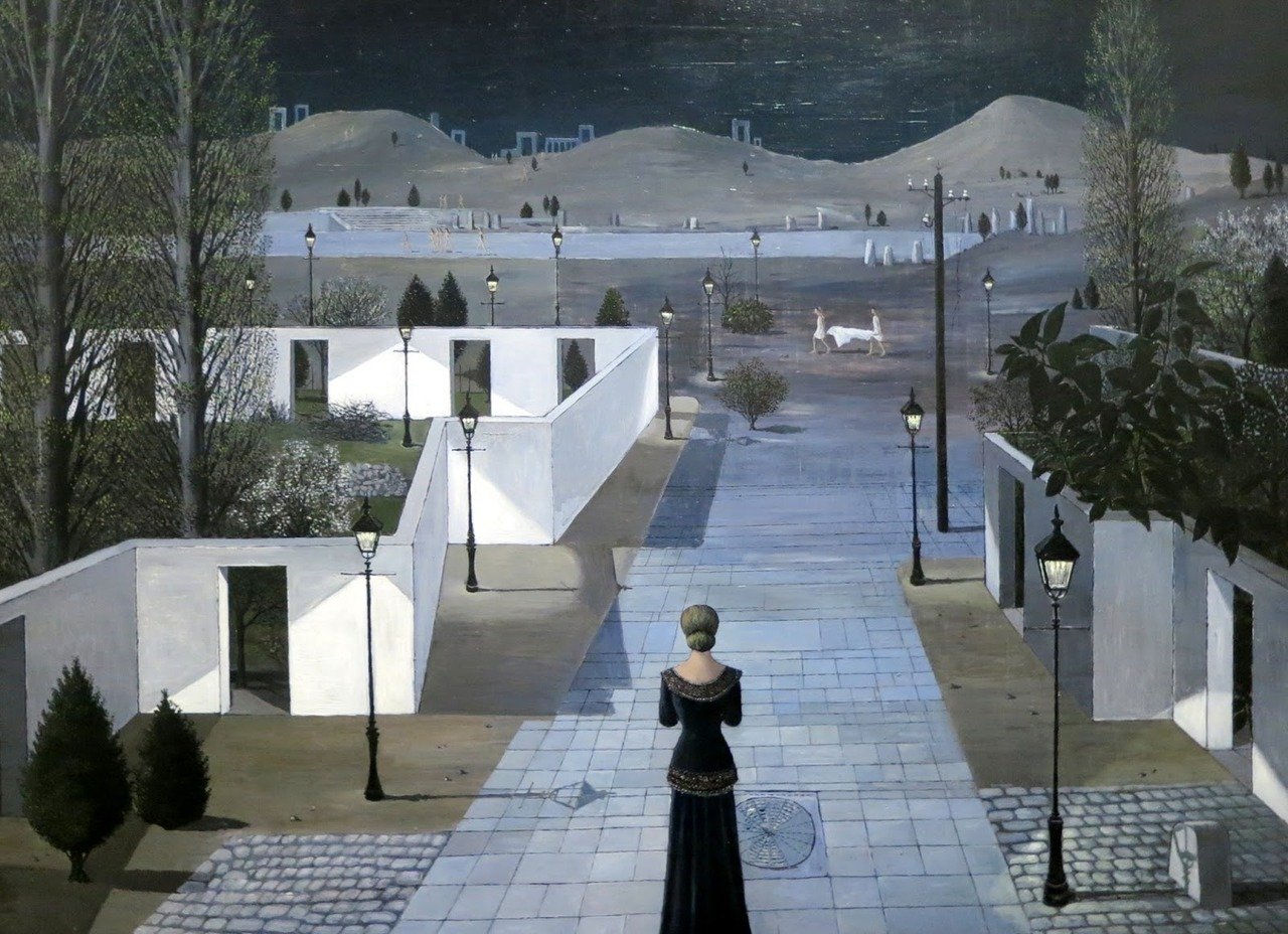 Paul Delvaux, (Belgium, 1897-1994)