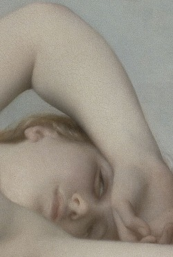 wasbella102:  The Birth of Venus:   Alexandre Cabanel 1863 (detail)