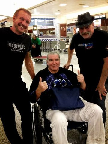 We're glad the bad guy Razor Ramon is getting his new hip.