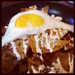 #chilaquiles #omg (at Lucy Restaurant & Bar)