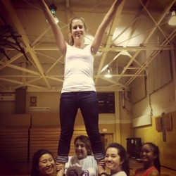 My girls flying me!:) @bric333 @taffy_tea @kimmmmyvirgen @adrianneee_