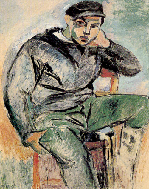 climbing-down-bokor:  Young Sailor no 1, Henri Matisse, 1906