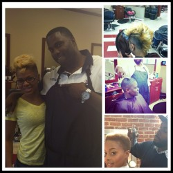 #OFFICIAL check out my #barber @mr_roberts33 #Celebrity #Barber to @chrisettem #CheckOut his work #doubletap #salute #turnup #keepsmeright #instacool #instalove #instafamous #tags4likes #thetorigr8ceproject #potd #style #chrisettem #turndownforwhat #feedthemodels