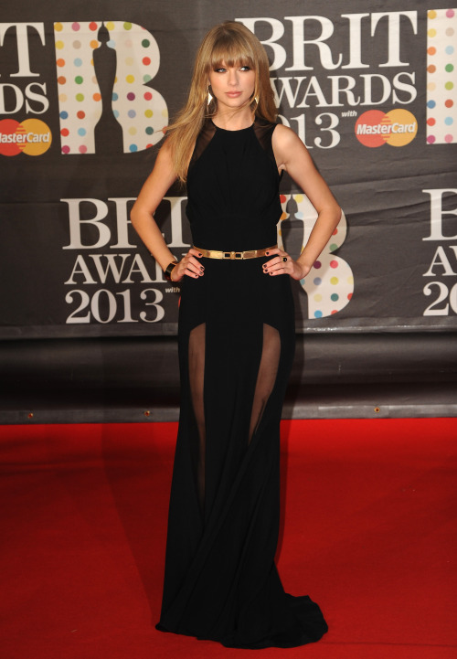 Taylor Swift in Elie Saab Pre-Fall 2013